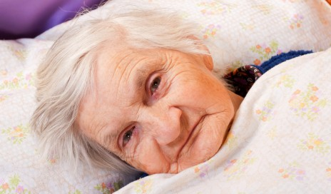 elderly sleep trouble