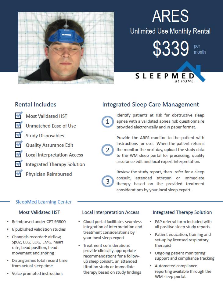 CMS, AASM Guidelines for Type I, II, III Sleep Study
